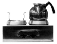 Single and Double AC & DC Hot Plates - Coffee Maker